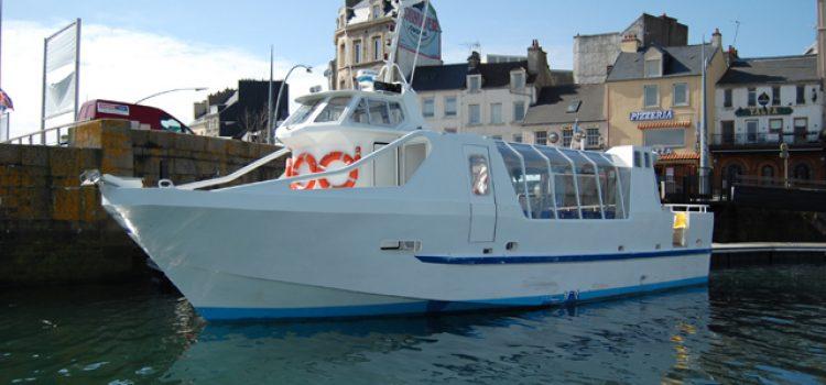 Balade en bateau de la Rade de Cherbourg