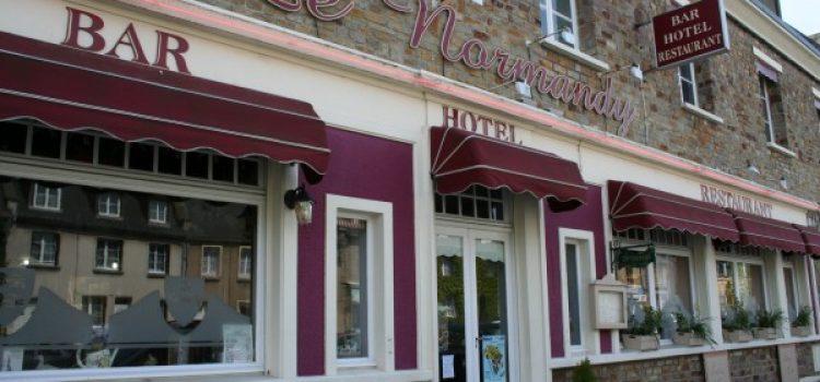L'hôtel-restaurant Le Normandy